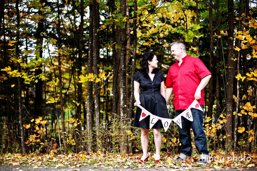 Fredericton engagement photographer hibou photo