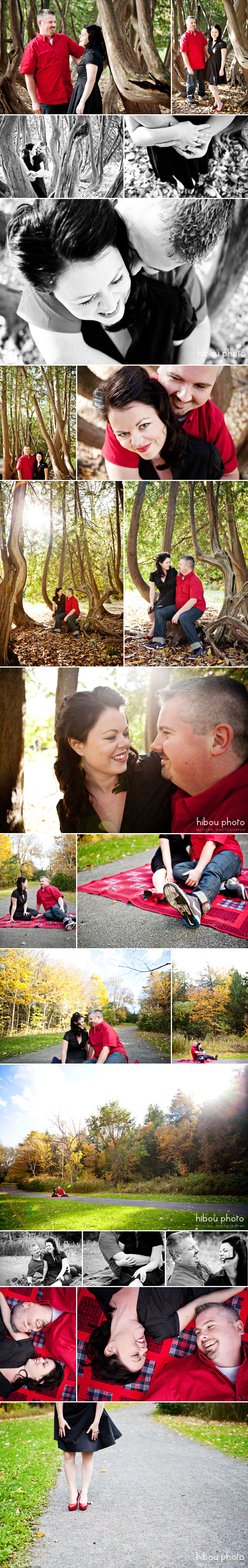 Fredericton engagement photography by hibou photo