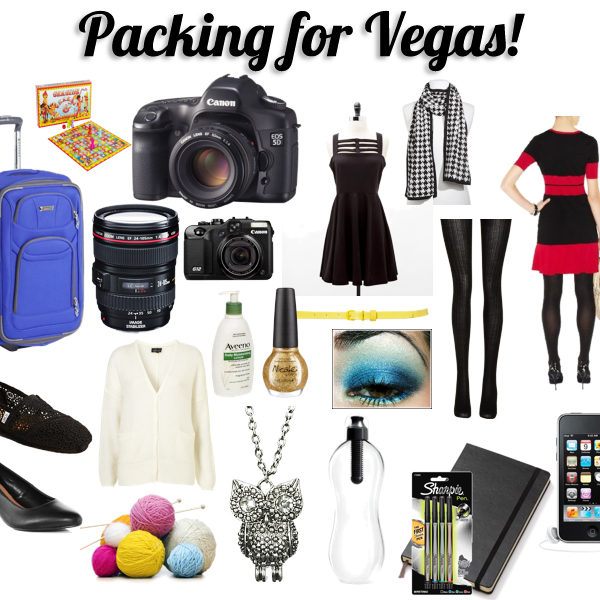 Big Me to Pack for Vegas | Fredericton Wedding Photographer Kandise Brown
