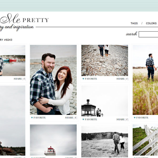 Featured On: Style Me Pretty | Fredericton New Brunswick Wedding Photographer Kandise Brown