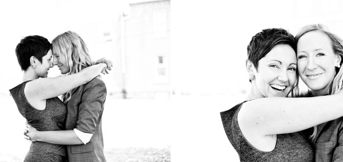 Downtown Fredericton Engagement Photography: Lisa & Angela