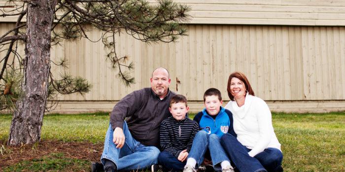 Fredericton Family Portraits: Evans Family
