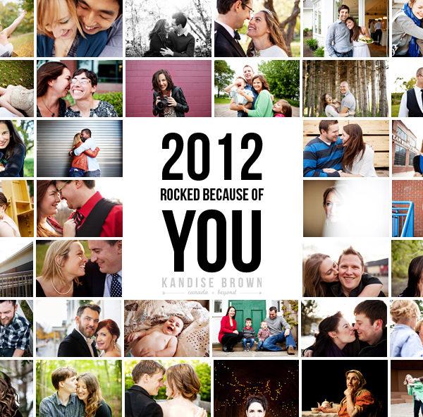 2012 Accomplishments & 2013 Goals   Canadian Wedding Photographer Kandise Brown