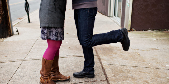 Halifax Seaport Engagement Photography: Ali & Mike