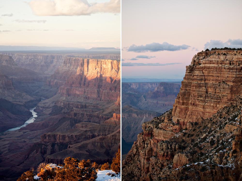 Grand Canyon sunset, Arizona