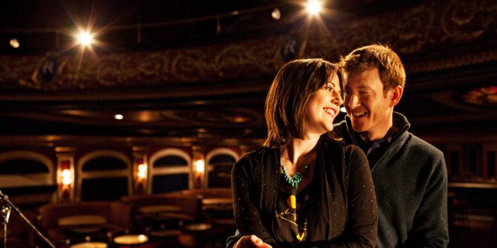 Montreal Rialto Theatre Engagement Portraits: Carol & John