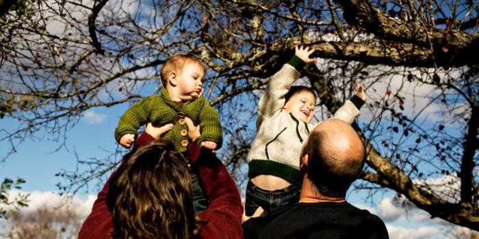 Fredericton Family Portraits: Melanie, Adam, Noah, and Bennett