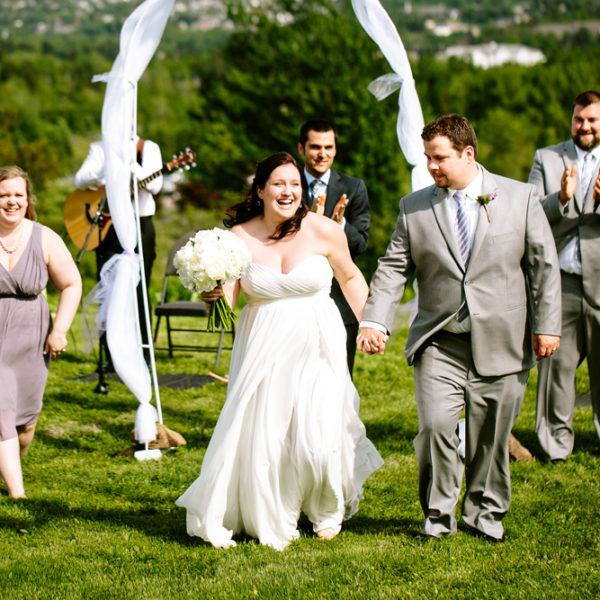 Magnetic Hill Winery Wedding: Melissa & Adam