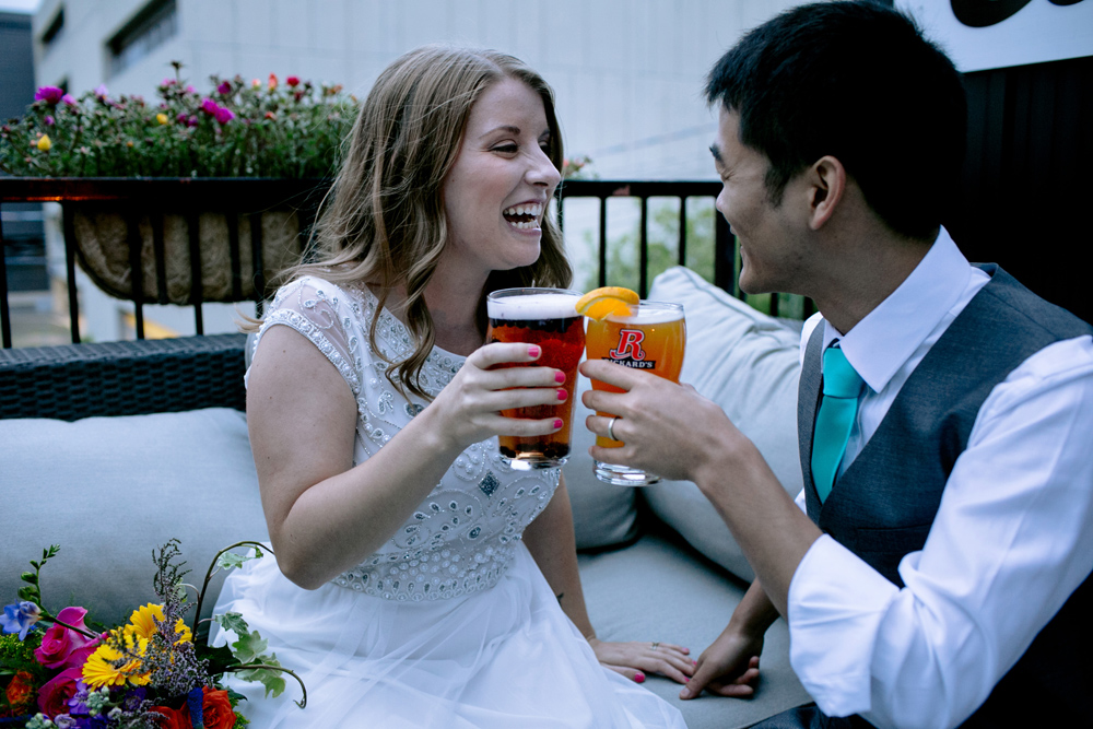 Snooty Fox Wedding Reception