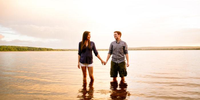 Washademoak Lake Engagement: Amanda + Justin