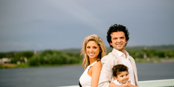 Fredericton Portraits: Ahmadzadeh Family