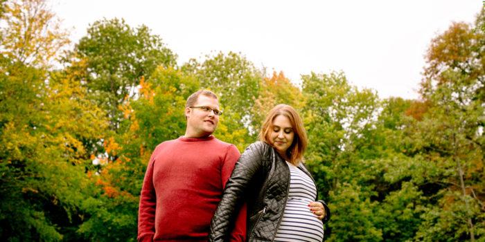 Fredericton Maternity Portraits: Melissa + Chris