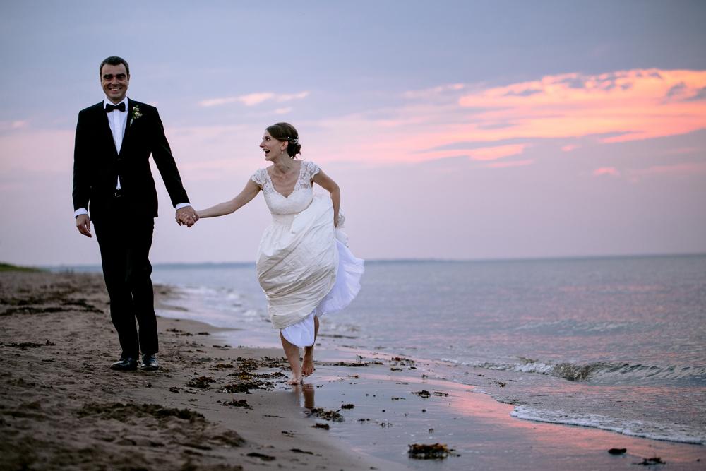 Beach Sunset Wedding Photography Kandise Brown NB