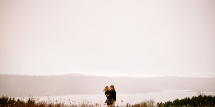 Spyglass Hill Engagement: Melanie + Jon