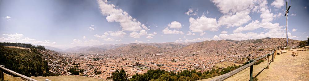 Cusco Peru Landscape Panorama Kandise Brown