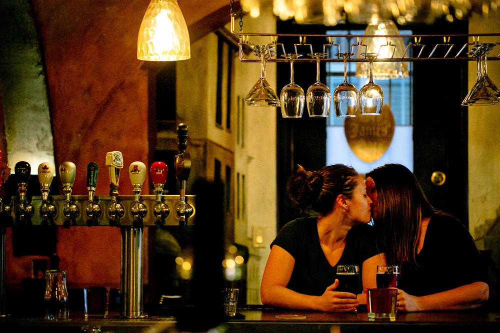LGTB Engagement Photos Kandise Brown