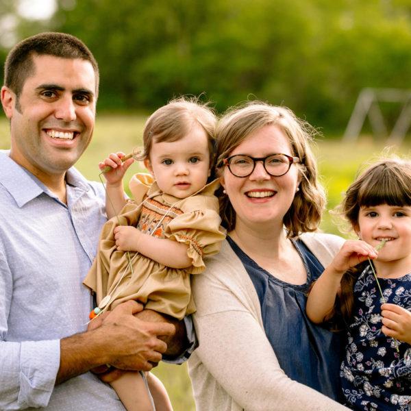 Charlottetown Family Portraits: Sonjel, Jalal, Violette + Zaynab
