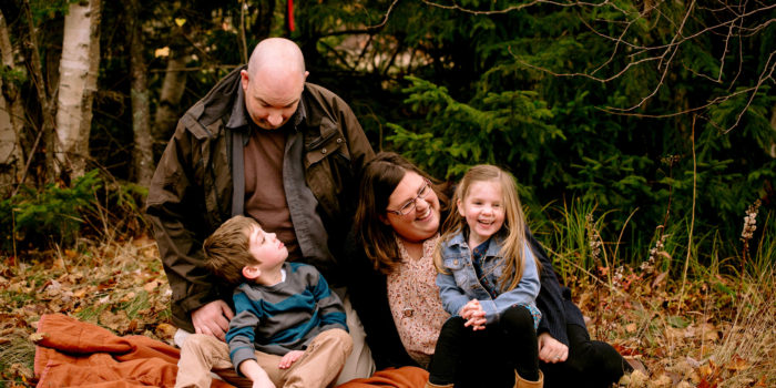 Fredericton Family Portraits: Vanessa, Sean, Jack + Olivia