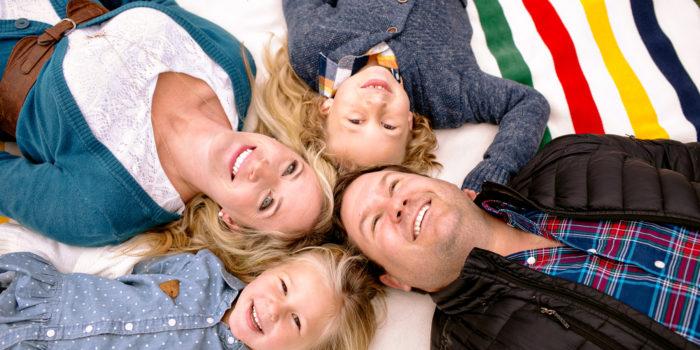 Fredericton Family Portraits: Jenny, Ryan, Caleb + Charlotte