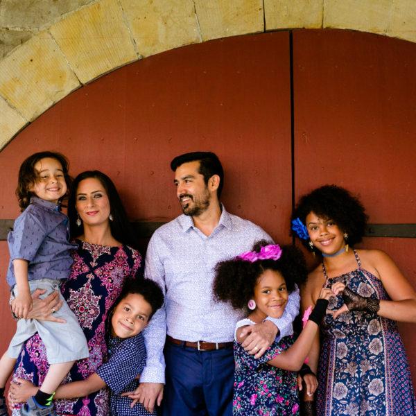 Downtown Fredericton Family Portraits: the Nicholas Family