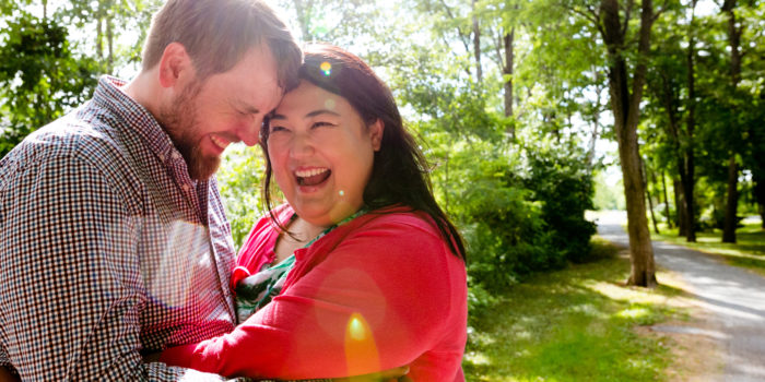 Fredericton Engagement Portraits: Jasmine + Steve
