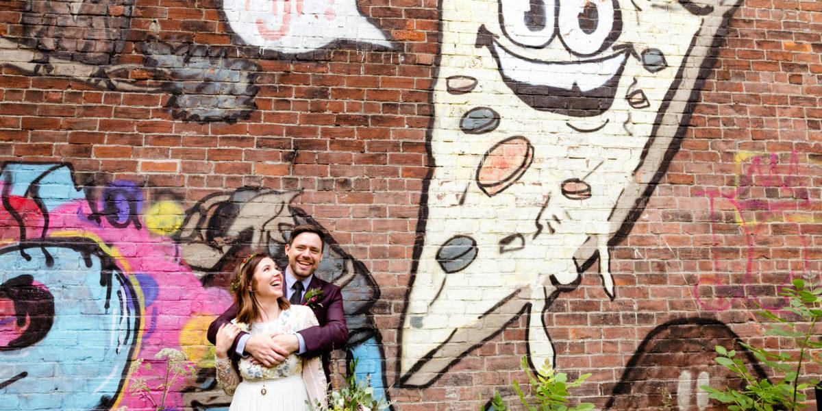 Oakland Farm Lodge Wedding: Katie + Dave