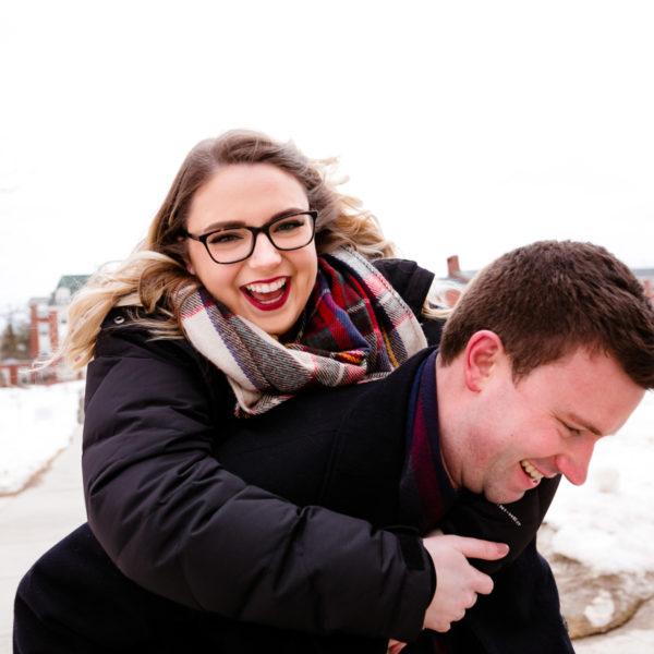 Fredericton Engagement Photography: Heather + Jeremy