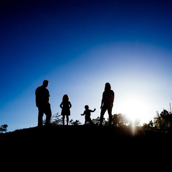 Santa Fe Family Portraits: Rachel, Andrew, Zachary + Lydia