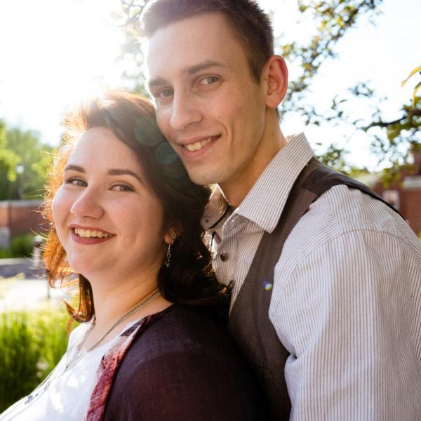 UNB Library Engagement: Eliza + Andrew