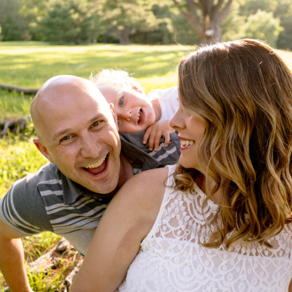 Odell Park Family Portraits: Kristy, Michael + Will