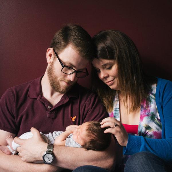 Fredericton Newborn Portraits: Introducing Teddy