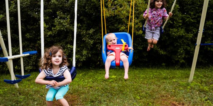 Charlottetown Family Portraits: Vivi, Ziggy + GoGo