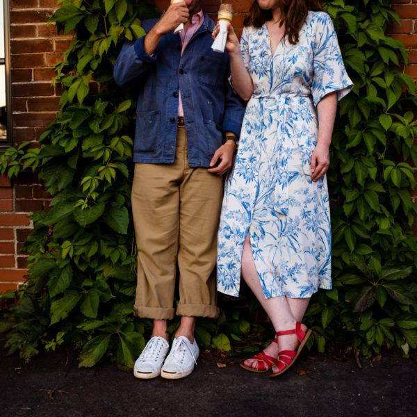 Fredericton Engagement Photography: Elizabeth + Jeremy