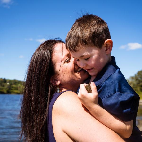 Woodstock Family Portraits: Joanna + Oscar