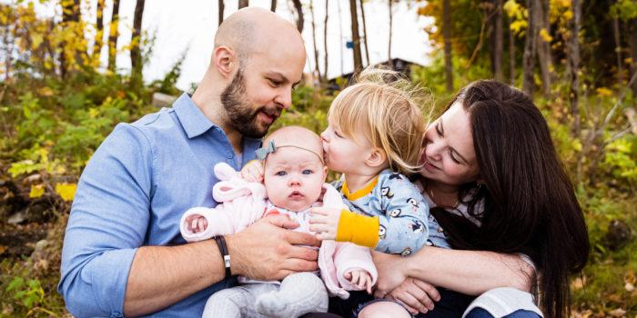 Fredericton Family Portraits: Freya Makes Four