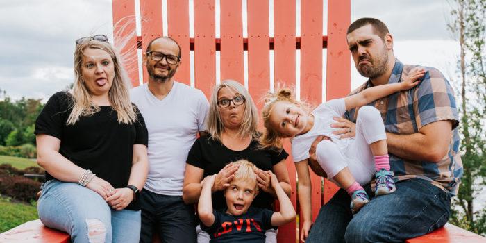Fredericton Family Portraits: Olga + Julia + Co
