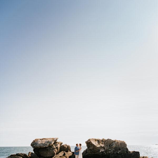 New River Beach Wedding: Christin + Tyler