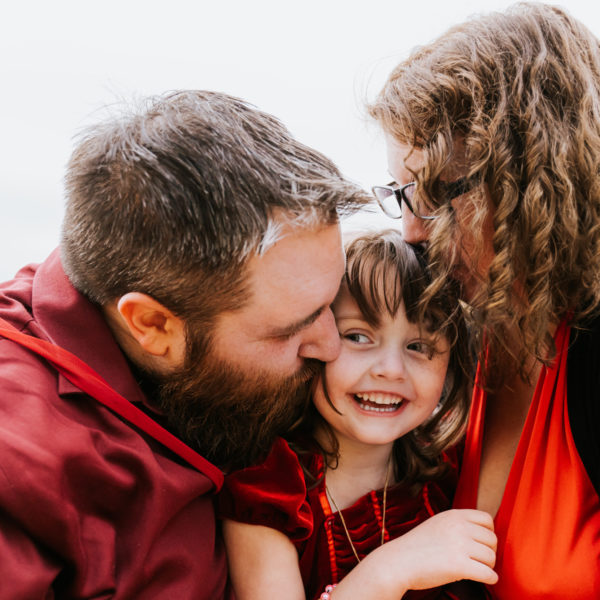 Fredericton Family Portraits: Rachel, Kev + Abby