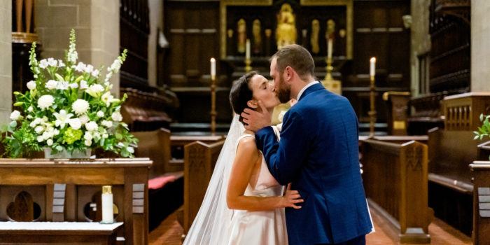 Christ Church Cathedral Wedding: Grace + Steven